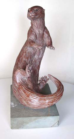 Otter Sculpture